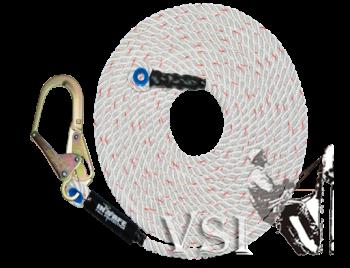 Línea de vida en cuerda de 16mm